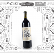 "Print Liberation - ""The End""  - Wine Bottle"